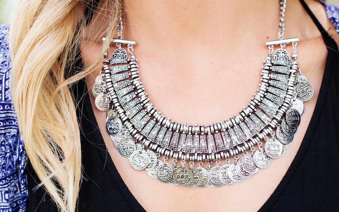 elegantní náhrdelník