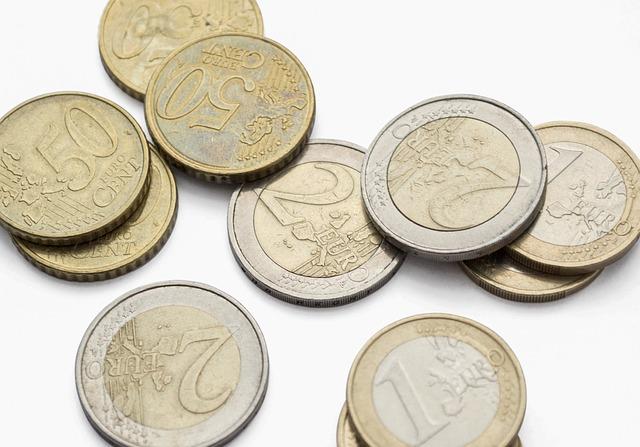 drobné mince, euro centy